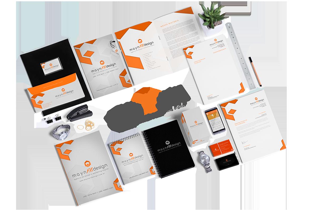 maynARTdesign | Branding - Apresentação de Mídia e Papelaria