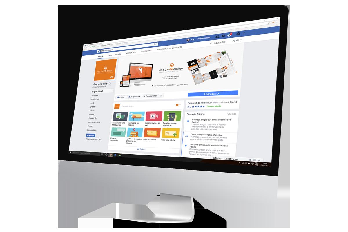 maynARTdesign | Social Mídia - Fan Page: O perfil da minha empresa nas redes sociais
