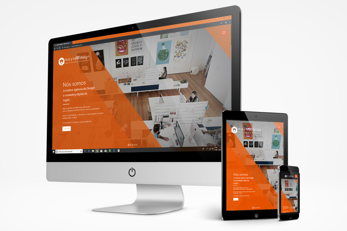 maynARTdesign | Web Design - Sites Corporativos: Layout Responsivo